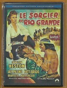DVD - LE SORCIER DU RIO GRANDE (CH. HESTON / J. PALANCE) WESTERN INTROUVABLE !!!