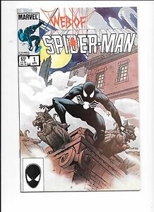 Web-Of-Spider-Man-1-April-1986-volume-1-Charles-Vess-cover