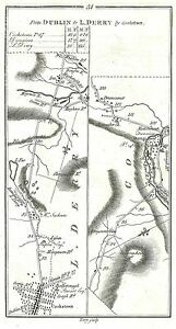 Antique-map-Road-from-Cookstown-to-Londonderry-via-Dungiven