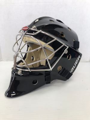 New Bauer Profile 961 Hockey Goalie Mask Cat Eye Cage Non Certified