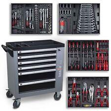 hanSe® Marken Werkstattwagen gefüllt mit 245 tlg. Werkzeugsortiment