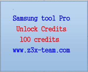 Details about z3x Samsung tool Pro Unlock Credits 100 Credits for Z3X BOX  Samsung New phones!!