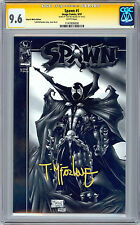 SPAWN #1 CGC-SS 9.6 <> BLACK & WHITE EDITION <> SIGNED BY TODD MCFARLANE 1997