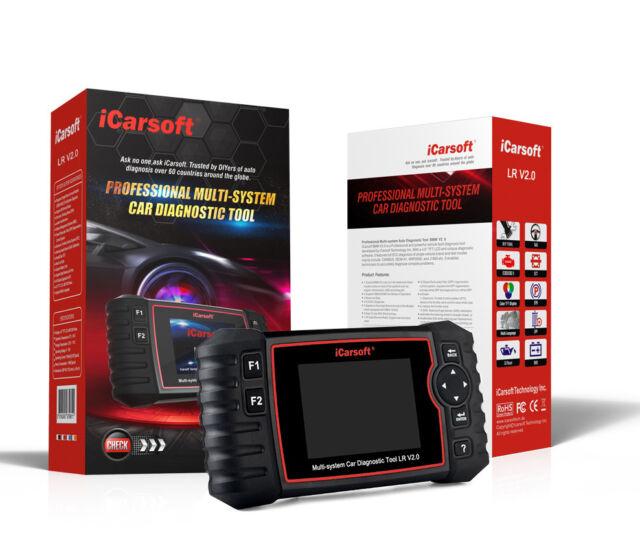 iCarsoft LR II for Landrover//Jaguar New Versi/ón Professional Diagnostic Tool Scanner Oel Reset