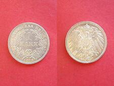 Deutsches Reich 1 Mark 1912 D Silber Erhaltung!