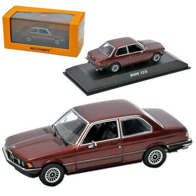 Serie 3 de BMW E21 323i Coupe 1975-1983 rojo metálico 1:43 modelo de Minichamps Maxichamps...