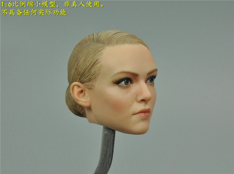 Female Tracy Head Sculpt 1 1 1 6th The Darkzone Agent Girl Head Carved d367aa