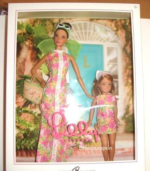 Barbie 2005 Lilly Pulitzer and Stacie Doll Giftset NRFB xb800