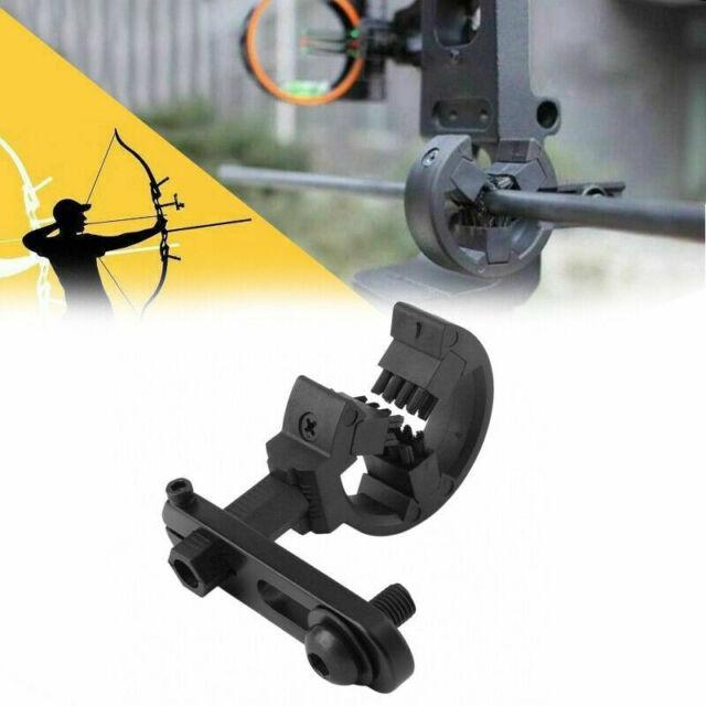Archery Black Aluminium Alloy Compound Bow Biscuit Whisker Brush Arrow Rest