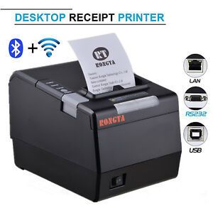 RP80VI Direct Thermal USB Serial Ethernet Label Printer 58/&80mm Barcode Printer