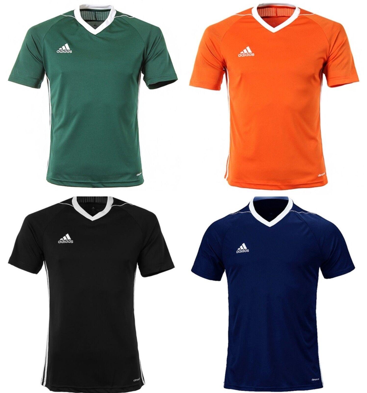 Adidas Youth Tiro 17 edzés foci Climacool 4 színek S / S gyerek pólók BJ9112
