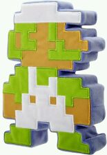 "World of Nintendo 8 Bit Plush Luigi Retro Style 8 3/4"" Tall Super Mario Bros"