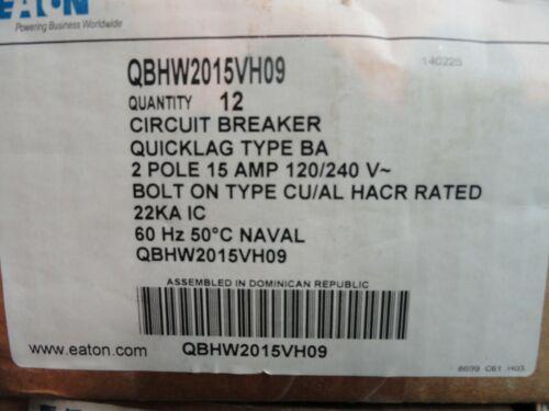 Eaton QBHW2015VH Circuit Breaker *New*