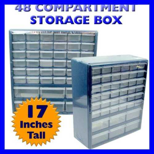 Deluxe 42 Drawer Compartment Storage Box FREE SHIPPING
