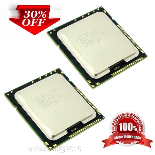 Intel Xeon Processors (2 x X5690) 3.46 Ghz Six Cores SLBVX Apple Mac Pro upgrade