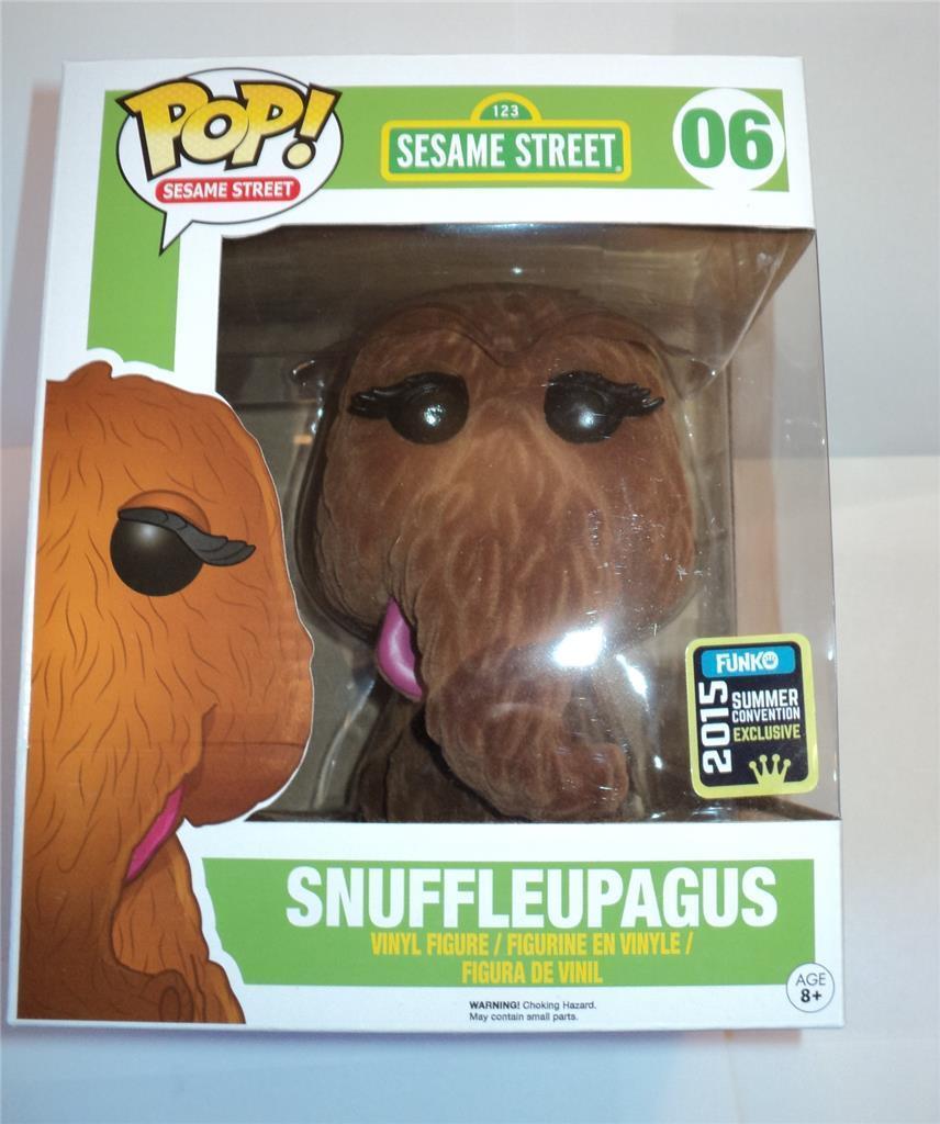 Funko Pop  Vinilo 2015 Convención Exclusiva Snuffleupagus  06 figura sin usar y en caja sellada