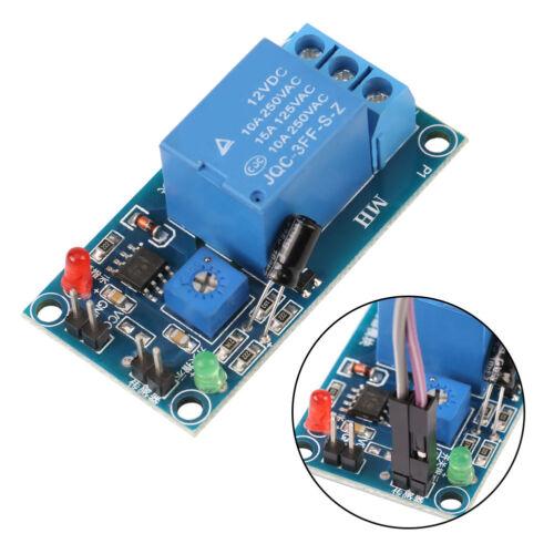 1Pc DC12V Sol Humidité Capteur Relais Module de contrôle Arrosage Automatique Interrupteur Dh