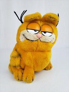 Vintage 1981 Large 10 Garfield Sitting Dakin Plush Stuffed Animal Toy Cat Ebay