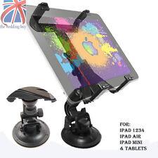 UK Universal Car Windscreen Mount Holder for iPad 1 2 3 4 Mini & Google NEXUS 7