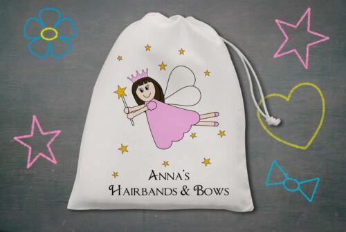 Owl Horse Fairy Personalised Hairband /& Bow Bag Unicorn