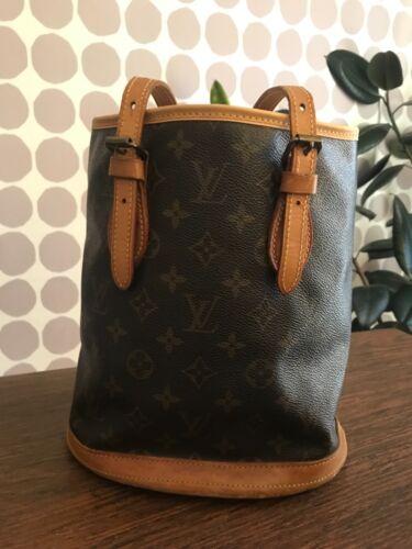 Louis Vuitton Petit Bucket Bag / monogram