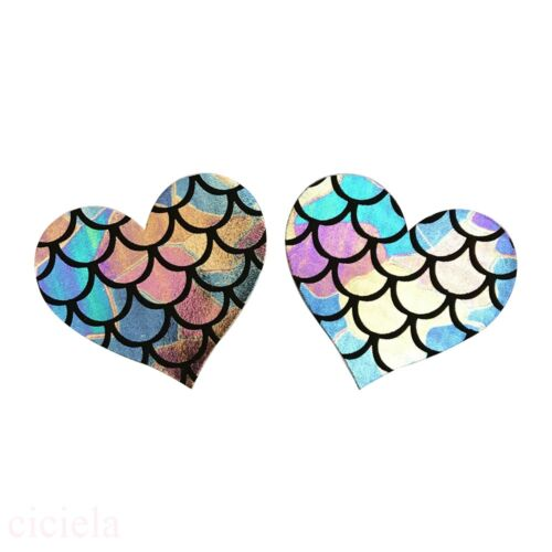 Lot Multi Shape Pasties Breast Nipple Cover Self Adhesive Disposable Stickers BH