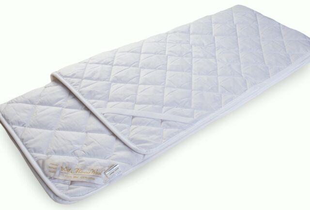coprimaterasso Trapuntato Bianco 90 x 200 cm Utopia Bedding Coprimaterassi