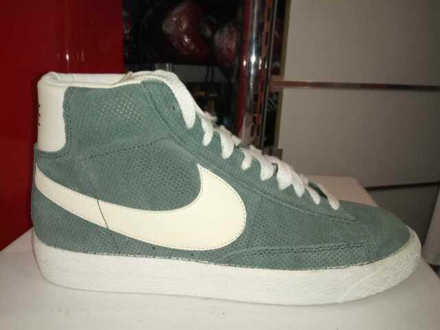 scarpa uomo Nike Blazer mid prm vintage suede 538282 304