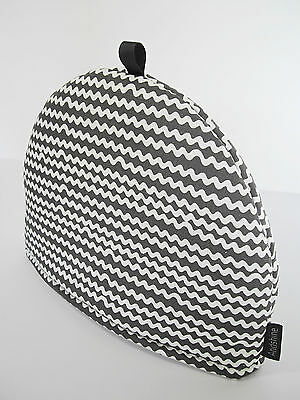 SPIRA Scandinavian Swedish Modern Vtg/Retro 50s 70s Fabric TEA COSY- MELLO GREY