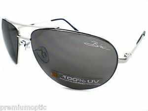 bloc sunglasses 9yb7  Image is loading BLOC-HURRICANE-F138-Aviator-Sunglasses -Gunmetal-Silver-Flash