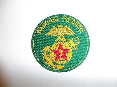 0151 RVN Vietnam Marine Corps 2nd Model TQLC Pocket Patch Danh Du To Quoc IR11A