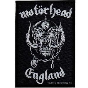 OFFICIAL-LICENSED-MOTORHEAD-ENGLAND-SEW-ON-PATCH-METAL-LEMMY