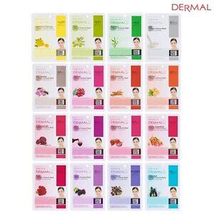 Ship-From-USA-Dermal-Korea-Collagen-Essence-Facial-Mask-Sheet-16-Combo-Pack