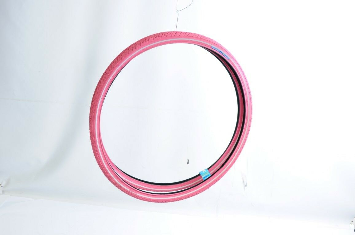 PAIR PINK DUTCH PERFECT TYRES 700x38c,28 x  1 5 8 x 1 1 2 (SRI-27)SALE 50%+ OFF  up to 60% discount