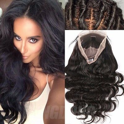 New Silk Base Unprocessed Peruvian Virgin Human Hair Lace Front/Full Lace Wigs #