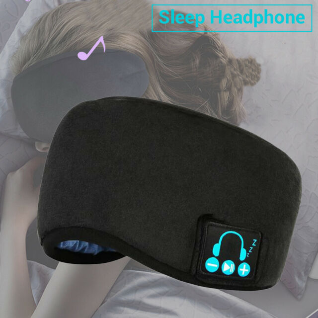 Wireless Bluetooth5.0 Sleep Eye Mask Soft Earphones Calling for Listenting Music