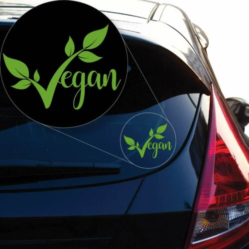 Laptop and More # 952 Vegan pride Decal Sticker for Car Window