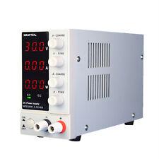 Adjustable Power Supply 30v 10a Precision Variable Dc Digital Lab Nps306w 110v Z