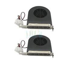 Lot 2X New Computer System Blower Cpu Case Pci Slot Fan Cooler For Desktop PC CA