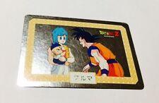 carte dragon ball - card nagasakiya  N* 1 japan prism silver rare