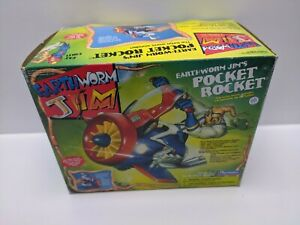 Earthworm-Jim-1994-Pocket-Rocket-Item-864490-See-Pictures-Factory-Sealed