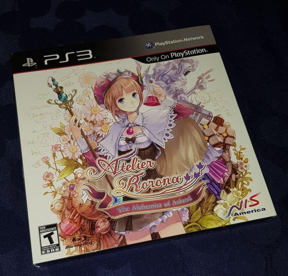 Atelier Rorona: The Alchemist of Arland, PS3, adventure