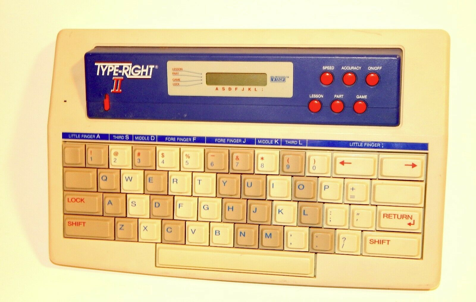 Type Right II Learning Laptop Computer by V-Tech RARE PERFECT