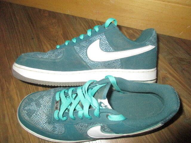 NIKE AIR Air Force 1 Low Green SNAKE Sneakers  SHOES MEN'S 11