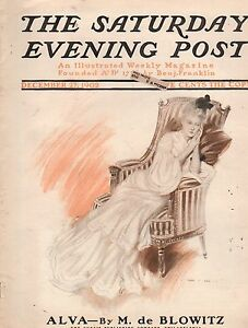 1902-Saturday-Evening-Post-December-27J-C-Leyendecker-Henry-Hutt-Ghost-Story