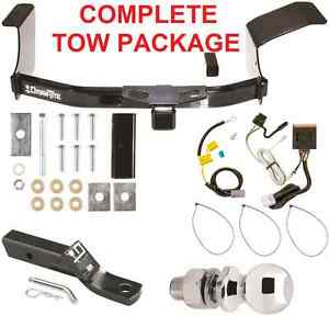 2007-2013 MITSUBISHI OUTLANDER COMPLETE TRAILER HITCH PACKAGE ~ CLASS 3 TOW NEW   eBay