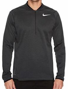 636e91b6d5cc Mens Nike Golf Therma Fit Half Zip Pullover Size S M L XL Grey Black ...