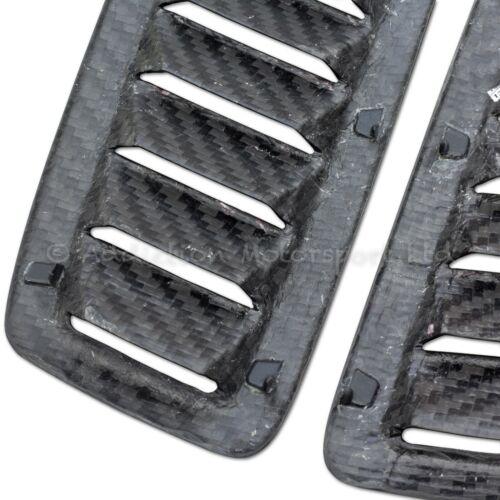 Paire De Ford Focus RS MK2 100/% Full carbone 3K Capot évents dans Mat