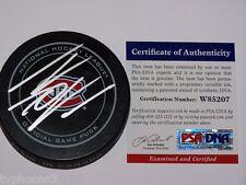 THOMAS VANEK (Montreal Canadiens) signed Official Game Puck w/ PSA COA