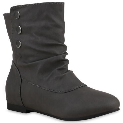893833 Schlupfstiefel Damen Stiefeletten Stiefel Nieten New Look